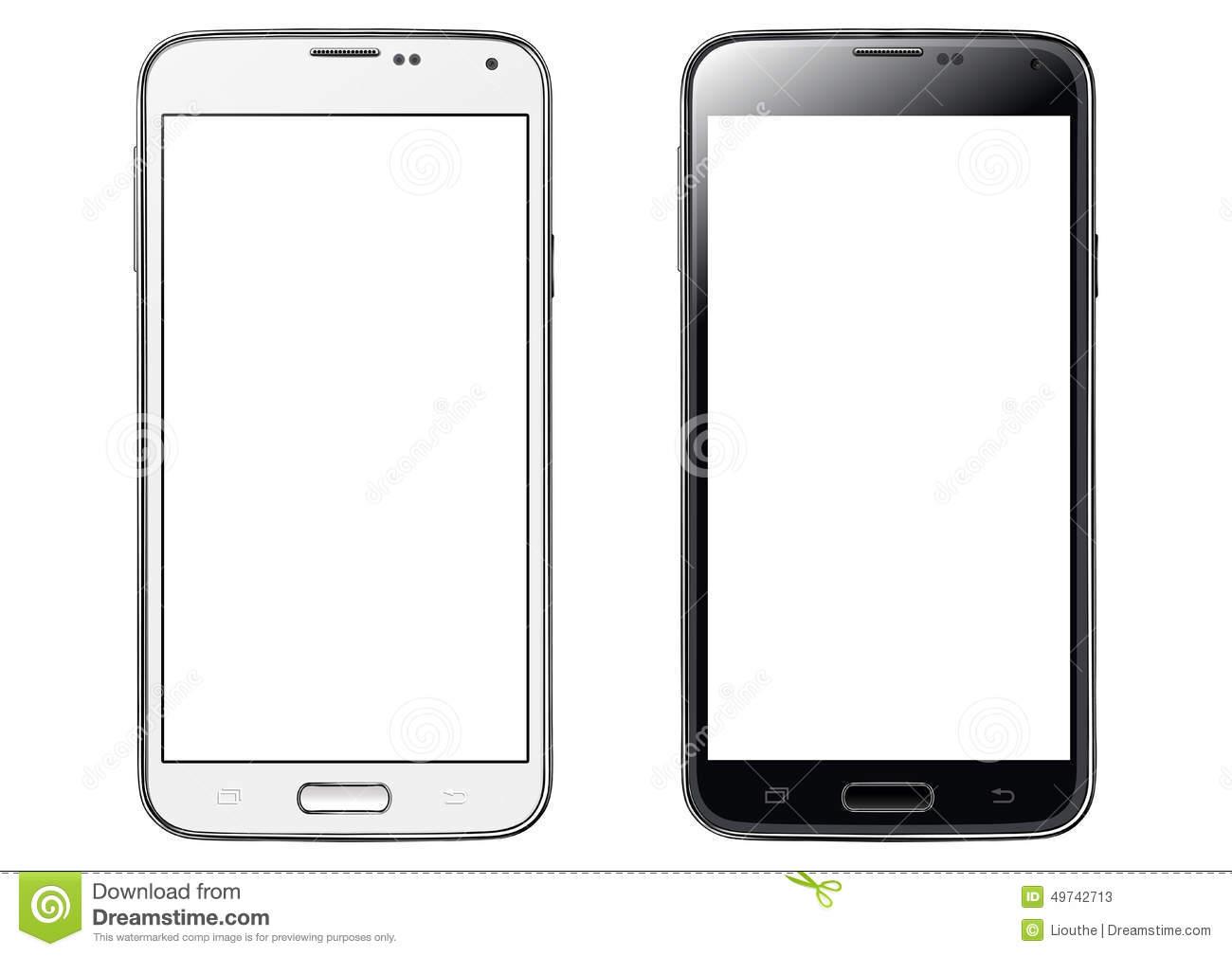 Blank Phone Clipart.