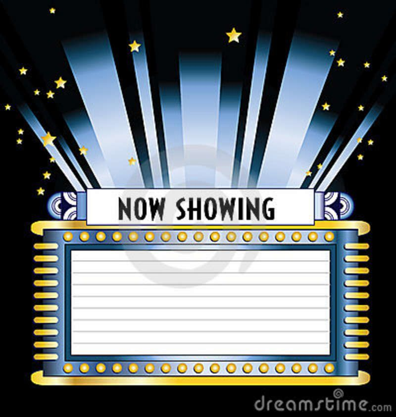 Theater Marquee Clip Art.
