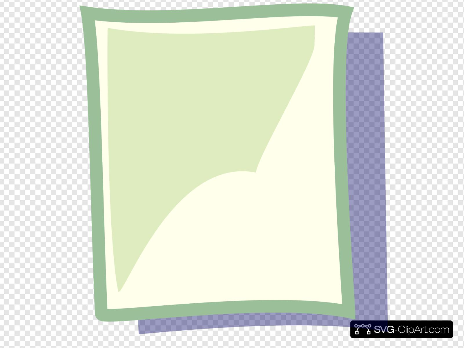 Blank Page Clip art, Icon and SVG.