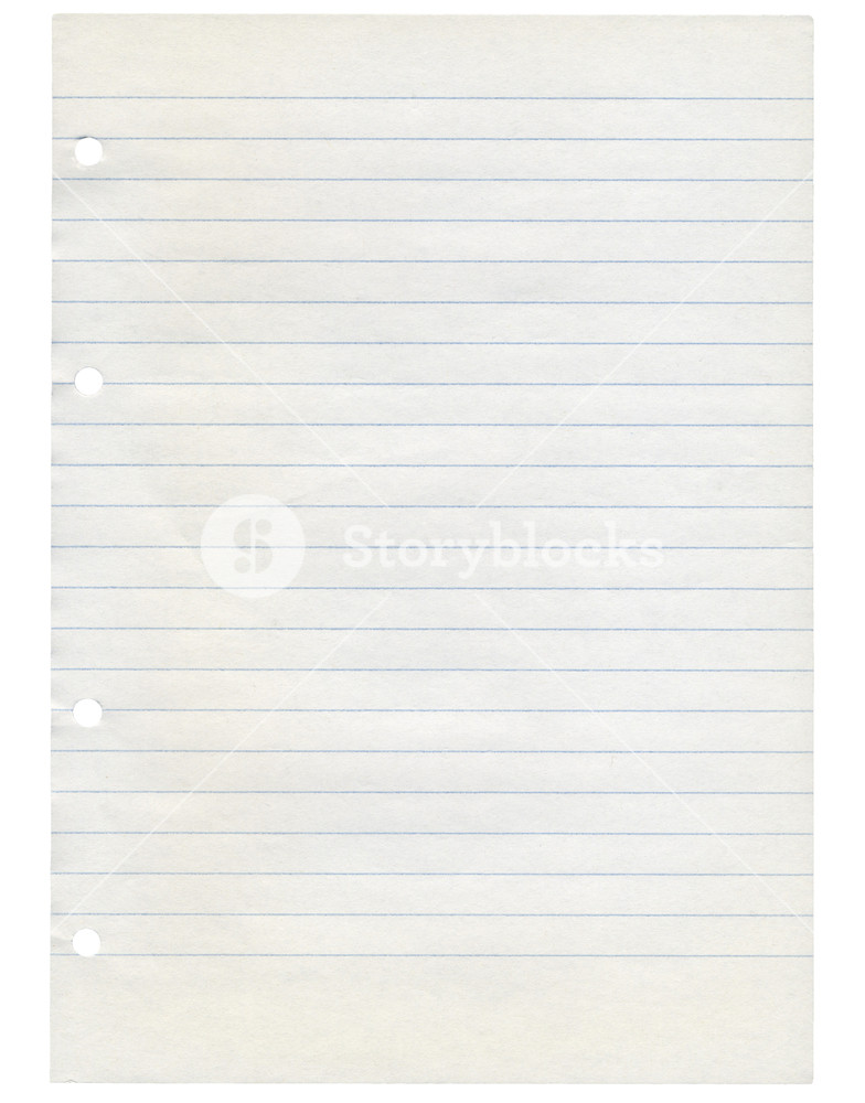 A blank sheet of paper isolated over transparent background PNG.