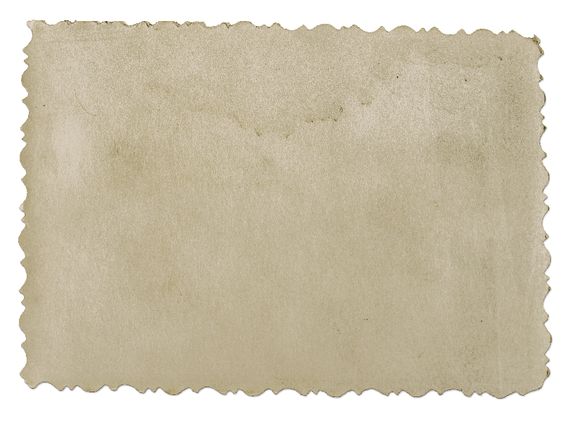 Old Blank Photograph PNG Image (Paper).