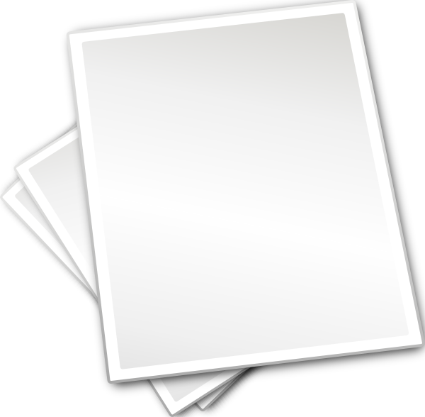 Blank Paper Png (+).
