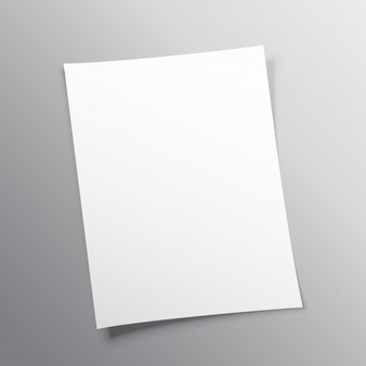 Blank Paper Vectors, Photos and PSD files.