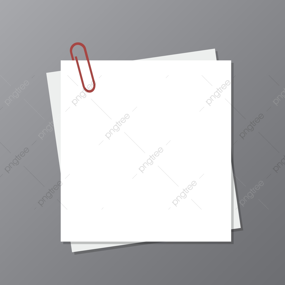 Blank Paper Note Pad Vector Design, Blank, Paper, Note PNG and.