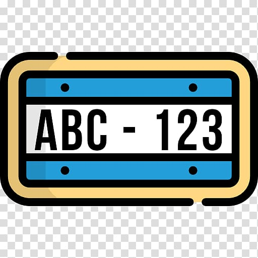 License Plate transparent background PNG cliparts free.