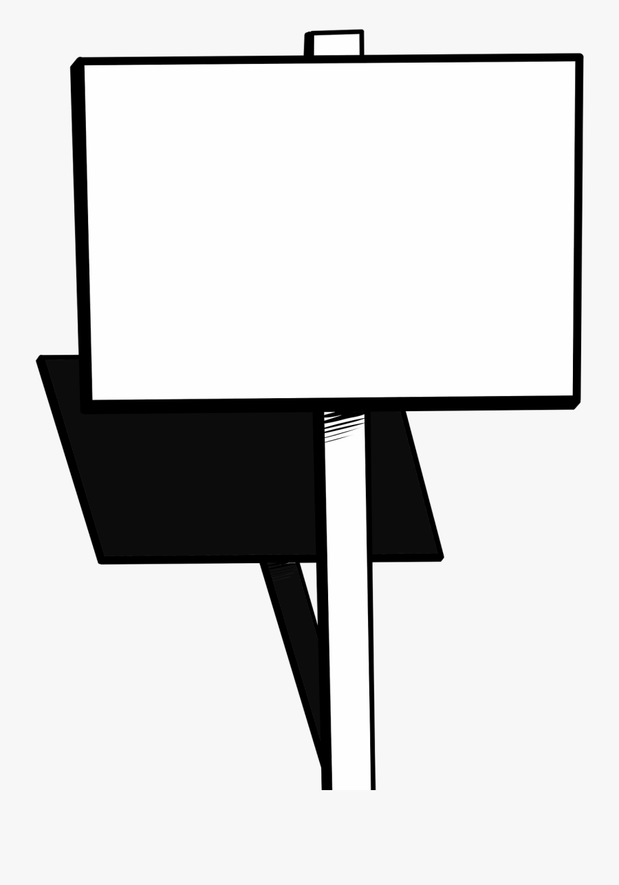 Sign Protest Blank Free Picture.