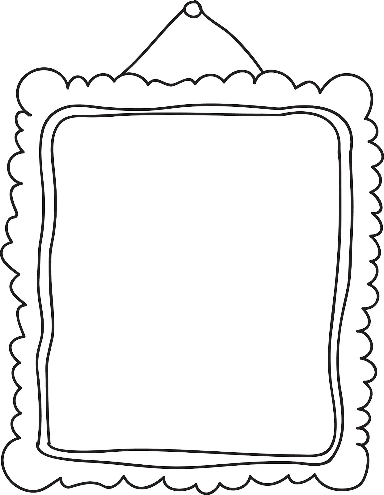 Empty Ten Frame Clipart.