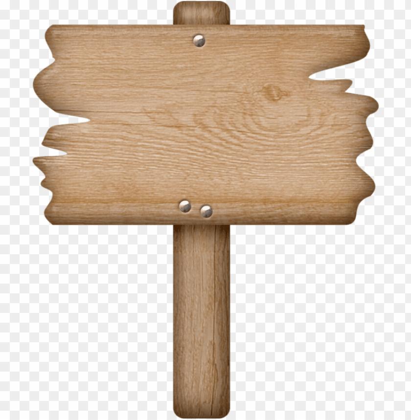 cartoon wood sign png.