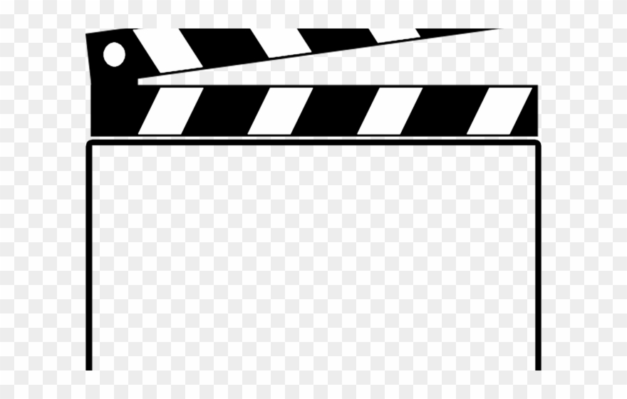 Clapperboard Clipart Blank.
