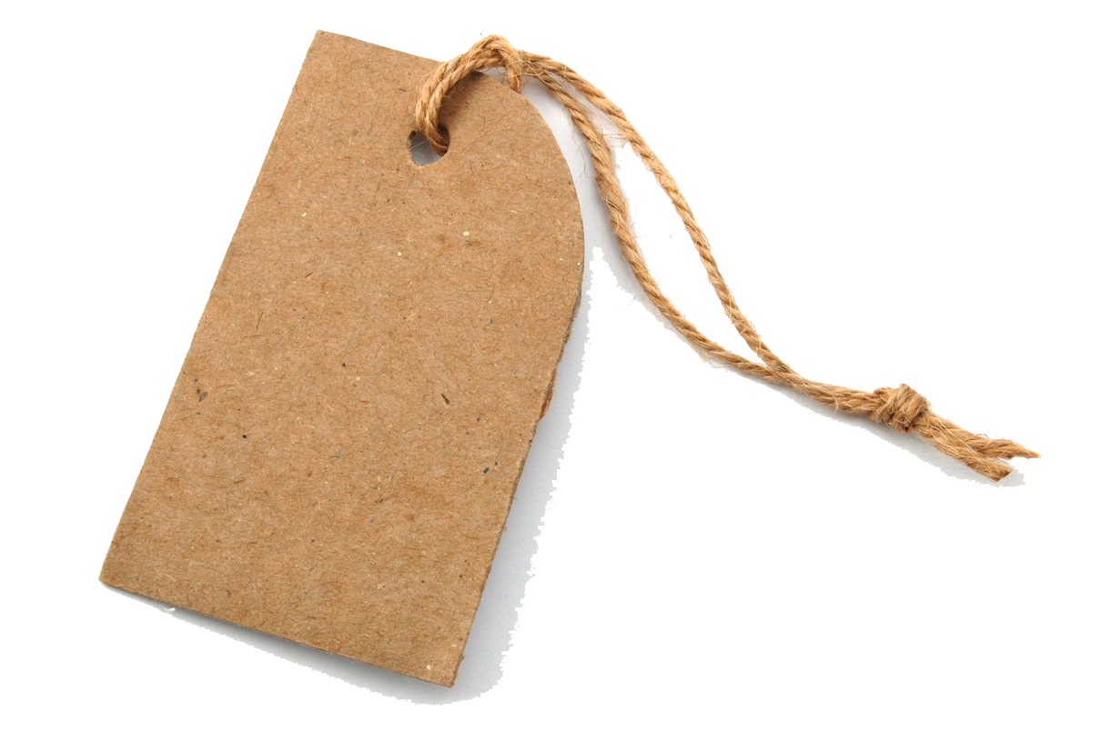 Download Blank Tag Transparent PNG.