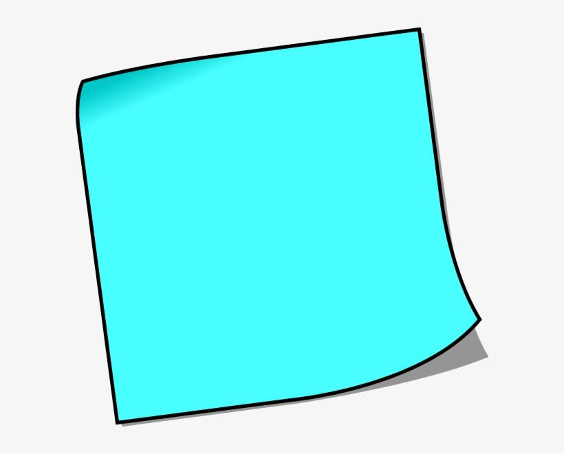 Blank Post It Clipart.