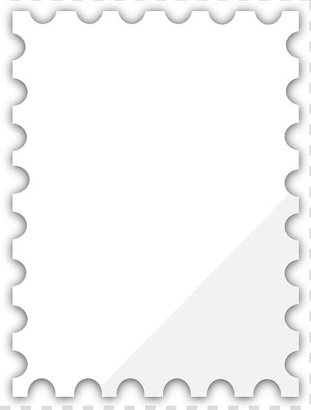 Postage Stamps Mail Rubber stamp , Blank Postage Stamp.