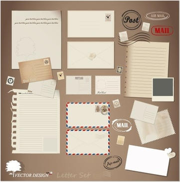 Vector blank postcard clipart free vector download (5,181.