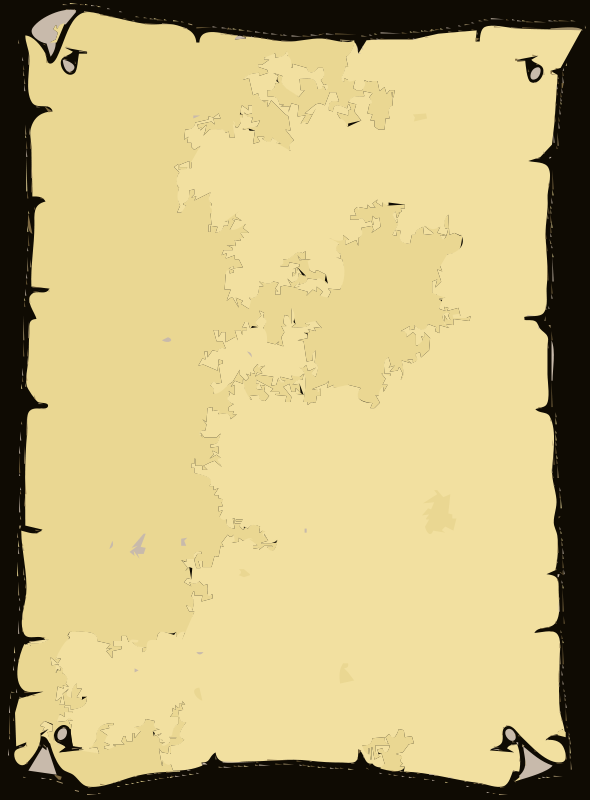 Free Clipart: Wanted Poster Blank.