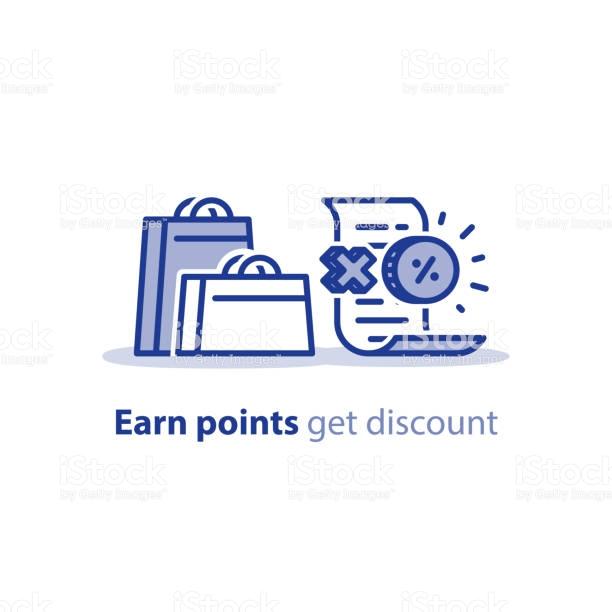 Reward Points Free Vector Art.