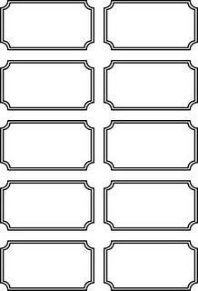 Blank printable ticket stubs.