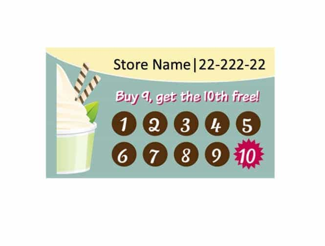 30 Printable Punch / Reward Card Templates [101% Free].