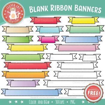 Ribbon Banner Clipart.