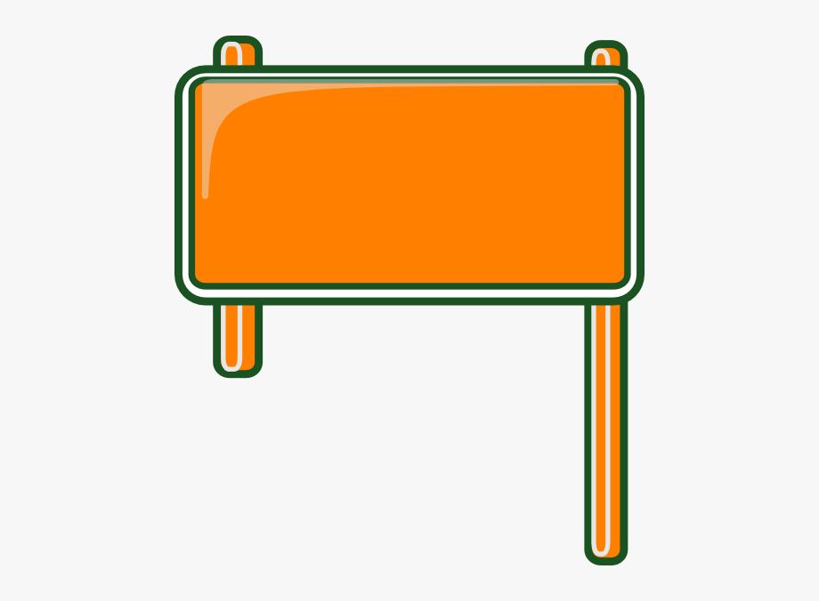 Blank Road Sign Clip Art N5.