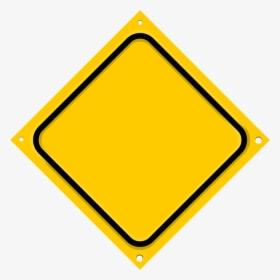 Road Sign Diagonal Blank.