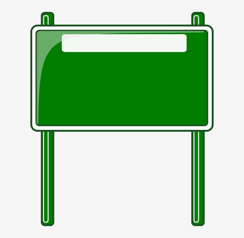 Blank Road Sign Clipart Png.