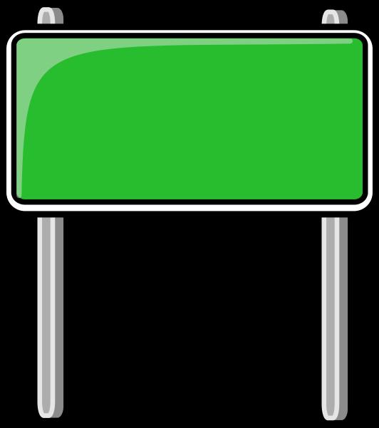 Sign Transparent Highway.