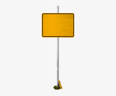 Blank Road Signs Png PNG Image.