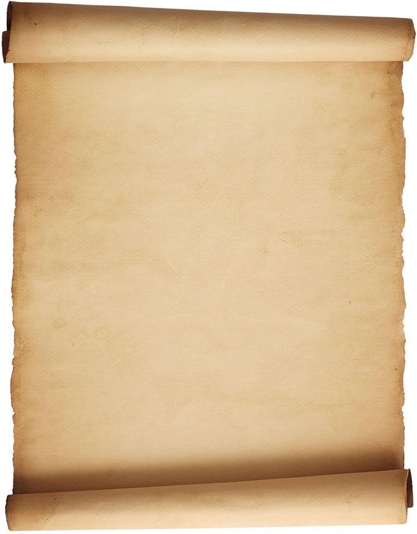 Blank Parchment Paper.