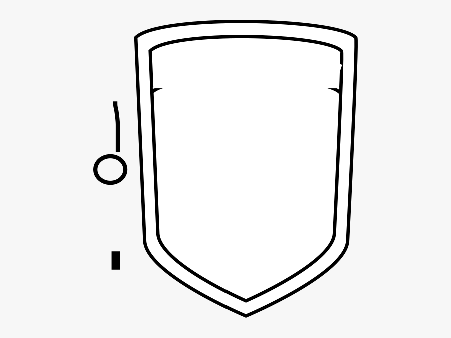 Blank Shield Template , Free Transparent Clipart.