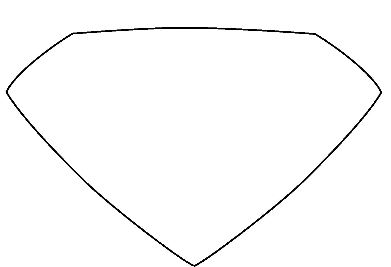 Free Empty Superman Logo, Download Free Clip Art, Free Clip.