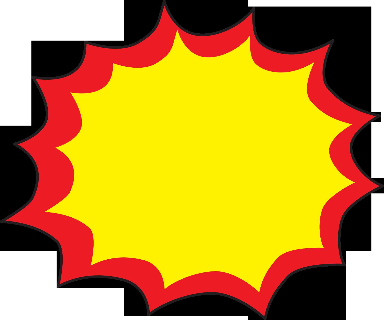 Boom clipart starburst, Boom starburst Transparent FREE for.