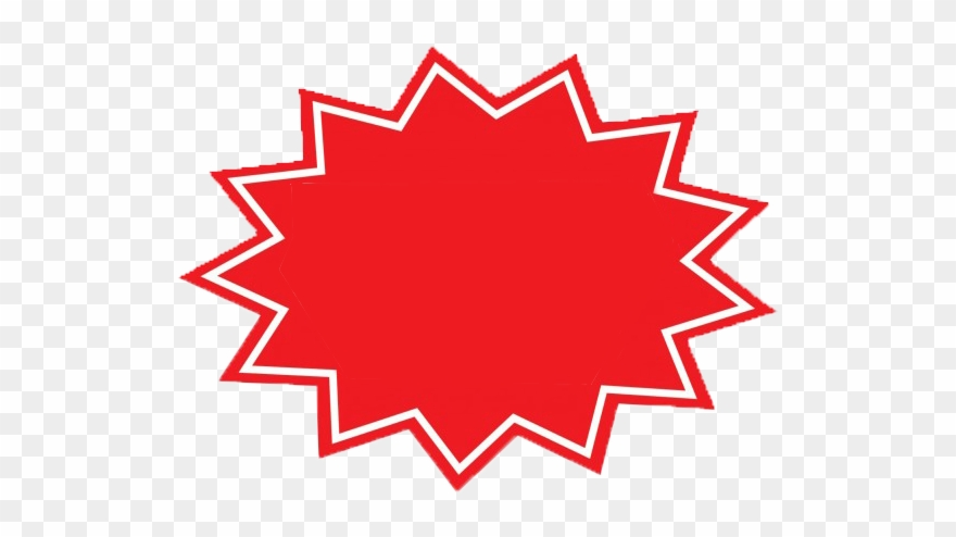 Red Starburst Png & Free Red Starburst.png Transparent.