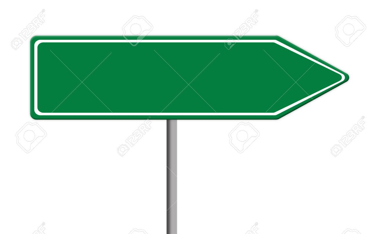 Blank Street Sign Template Free Download Clip Art.