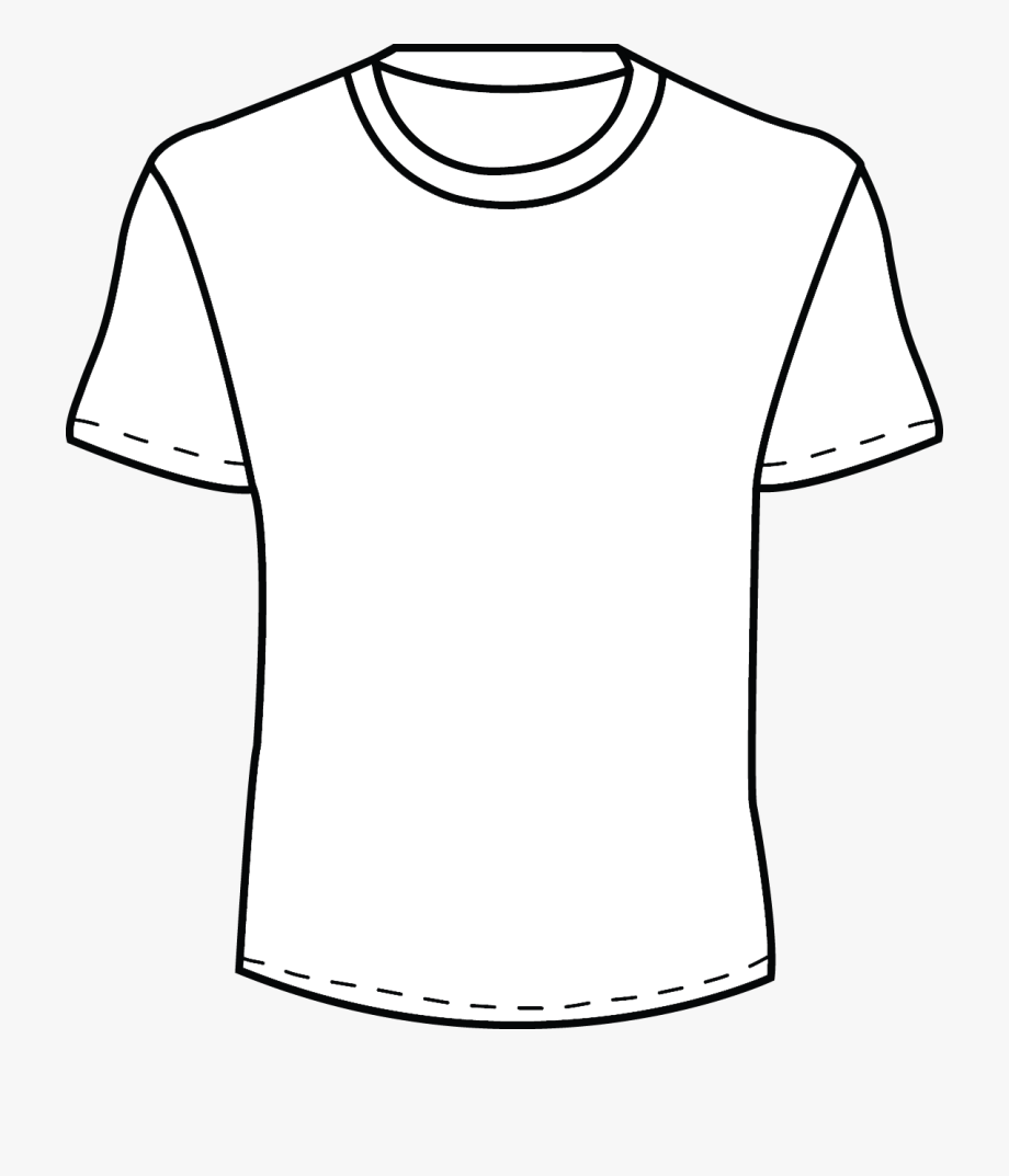 Blank Tshirt Template Png.