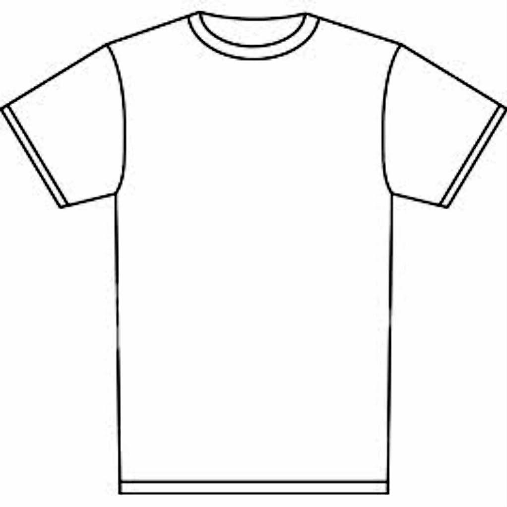 Blank Tshirt Template Tryprodermagenix Org Prepossessing T.