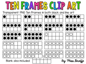 Ten Frame Clip Art (106+ images in Collection) Page 1.