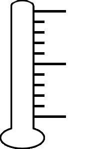 Blank Thermometer Clipart 1 Thermometer Clip Art.