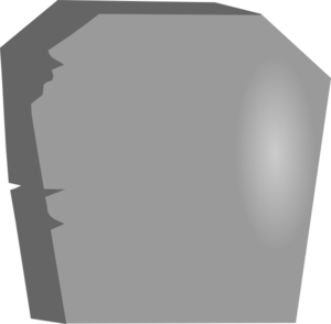 Large Blank Tombstone Clip Art at Clker.com.