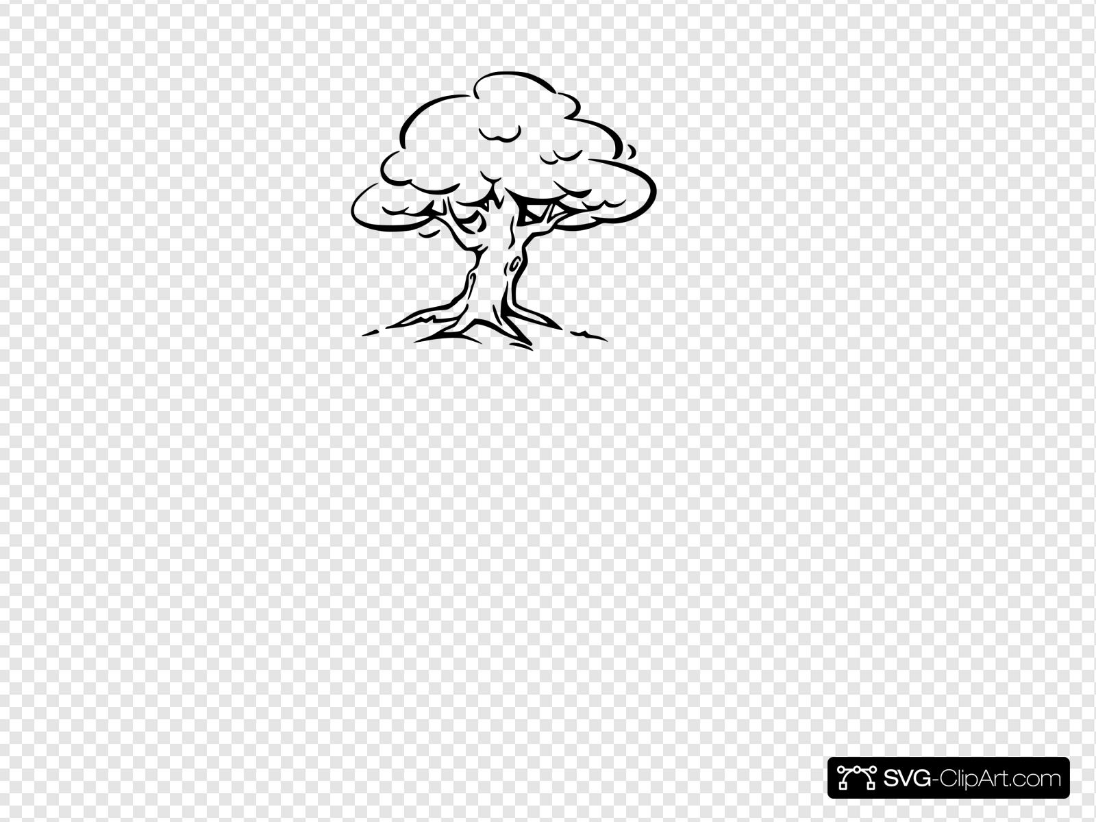 Blank Tree Clip art, Icon and SVG.