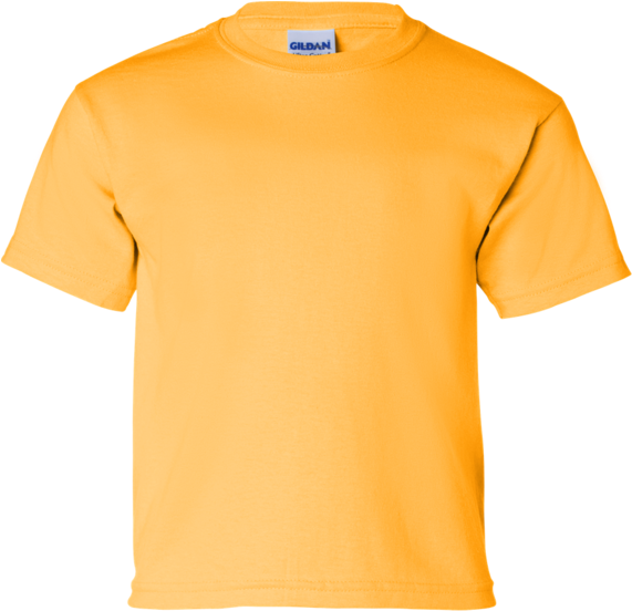 HD Gildan T Shirt Bloanks Transparent PNG Image Download.