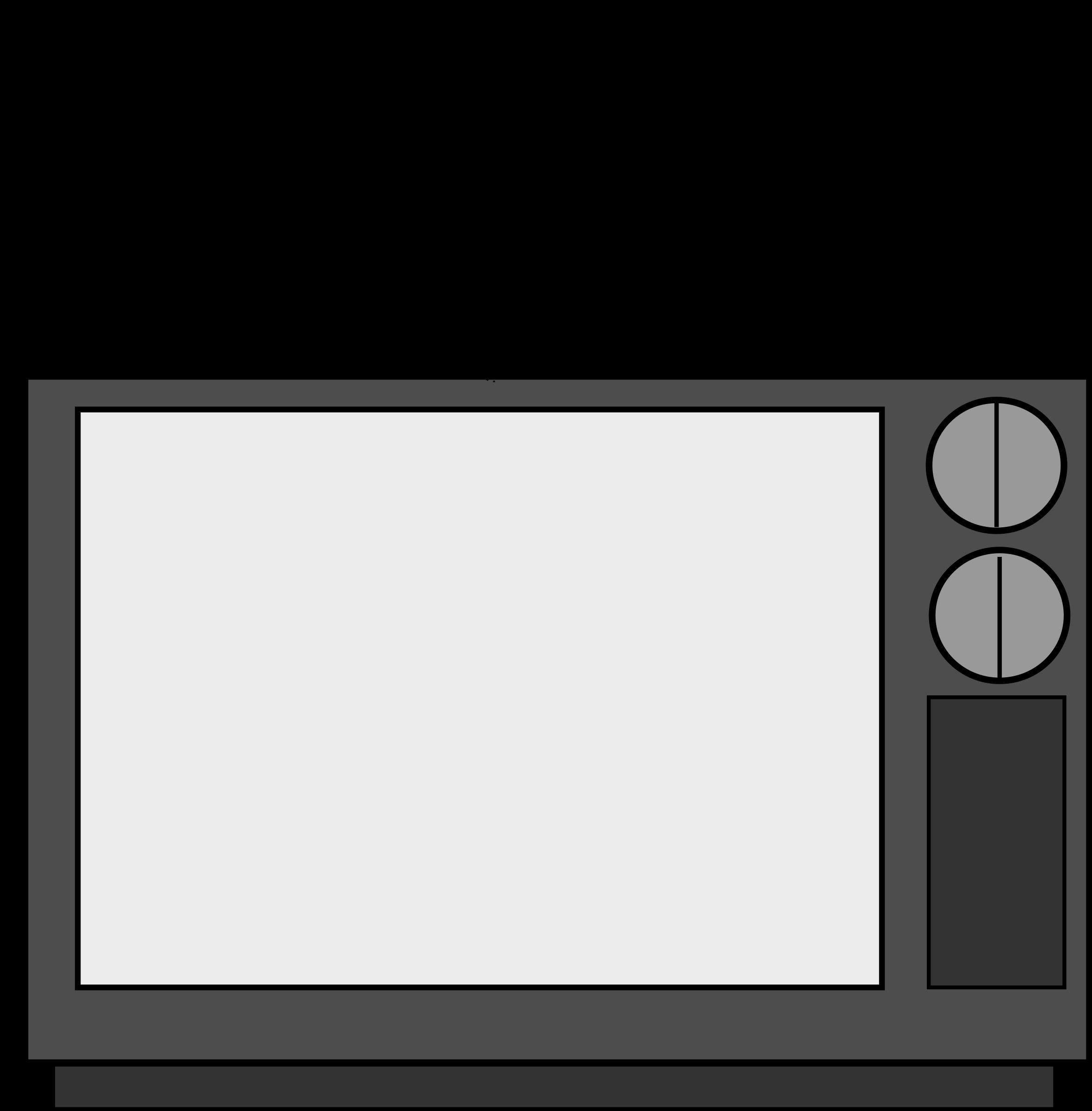 Blank Tv Clipart.