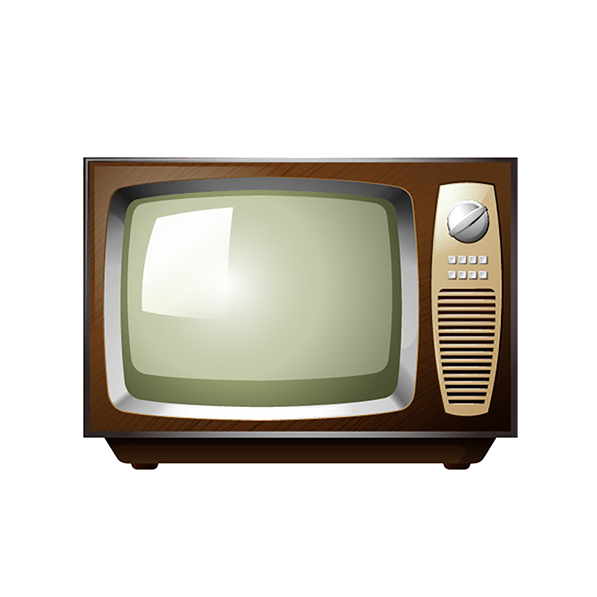 Television Stock illustration.