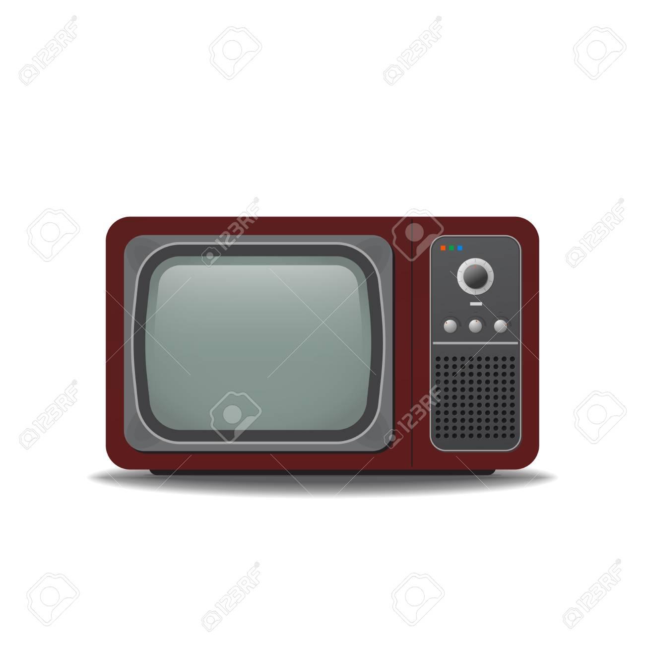 Old vintage TV.