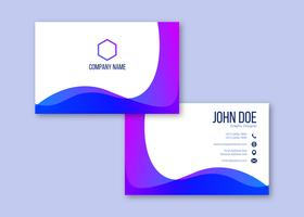 Business Card Background Free Vector Art.