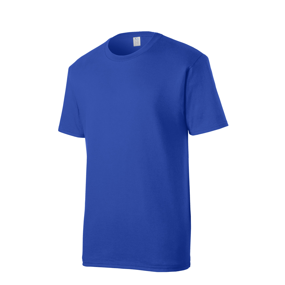 True Royal Blue Tee Shirt Blank Apparel Single 100% Cotton.