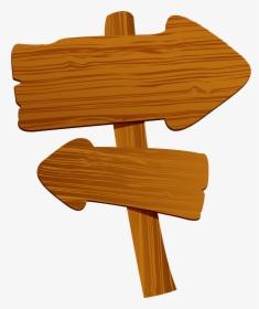 Wooden Arrow Blank Sign.