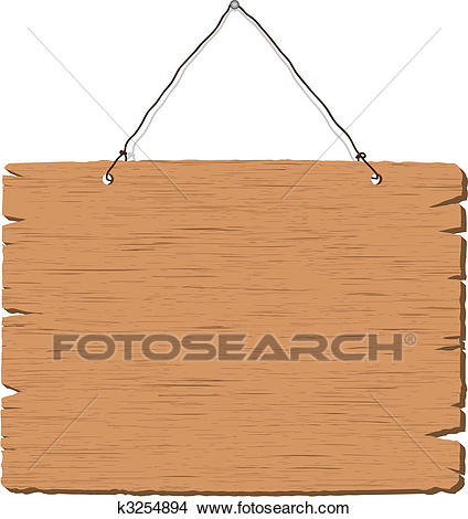 blank wooden sign clipart #16