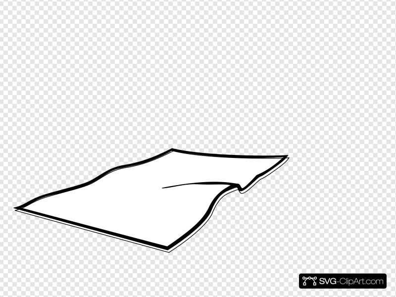 White Blanket Clip art, Icon and SVG.