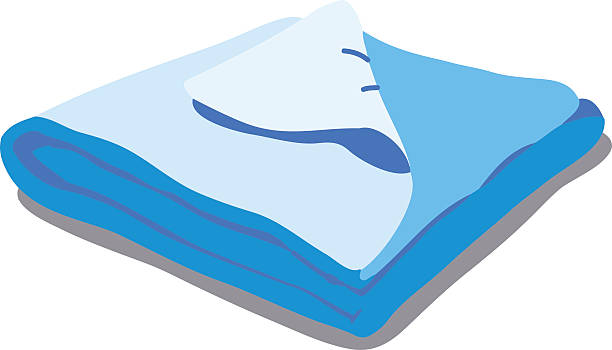 Bed Blanket Clipart.