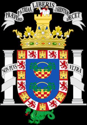 Armoiries de Melilla — Wikipédia.